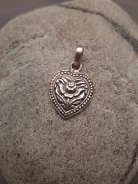 Silberanhänger 925 - Rose