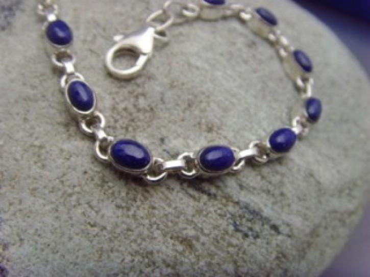 Armband - Lapis - Lazuli - 925'er Silber