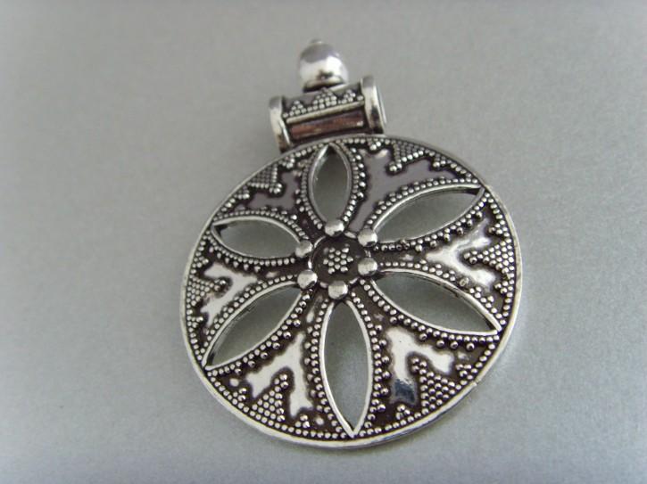 Silberanhänger (antikes Design) - 925'er Silber