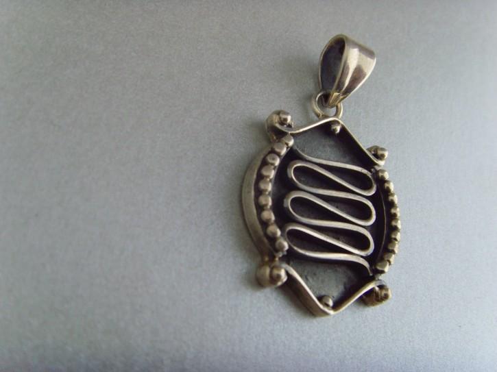 Anhänger (Fisch-Design) - 925'er Silber