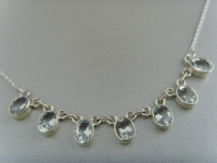 Aquamarin - Collier / Silber 925