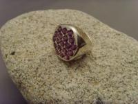 Amethyst-Ring / 925'er Silber