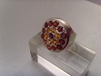 Multicolor-Ring / 925'er Silber
