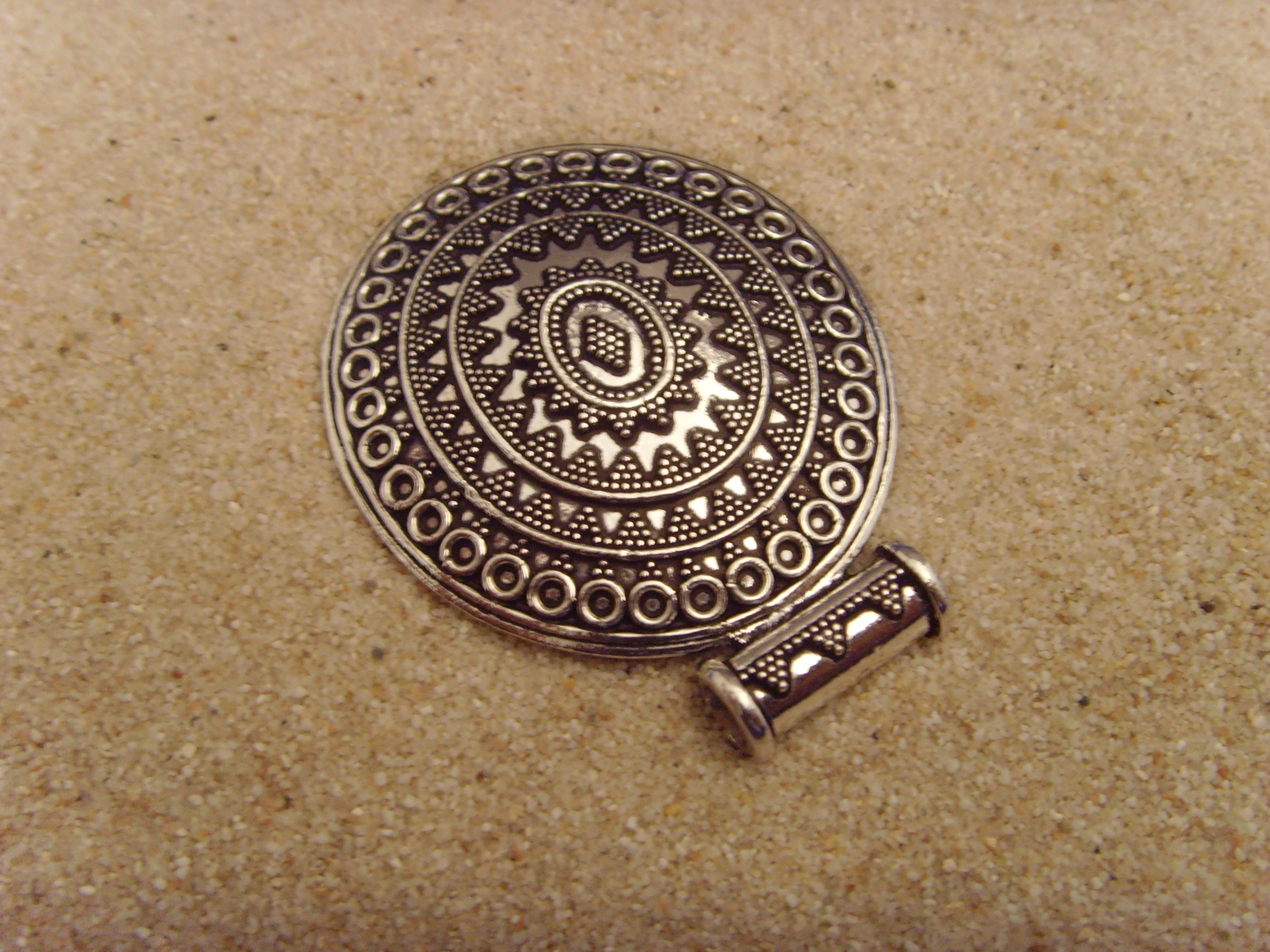 Silberanhänger (antikes-Design) - 925'er Silber
