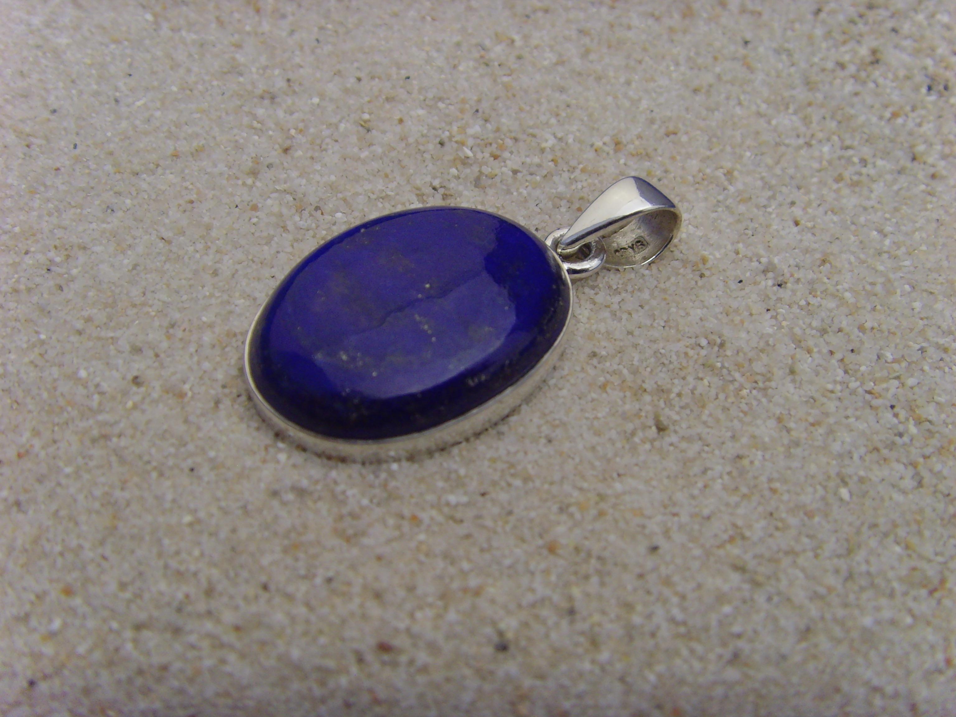 Lapis-Lazuli-Anhänger / 925 Silber